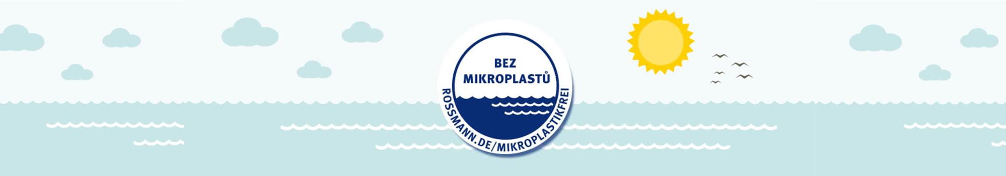 """ROSSMANN zavádí vlastní pečeť """"BEZ mikroplastů"""""""